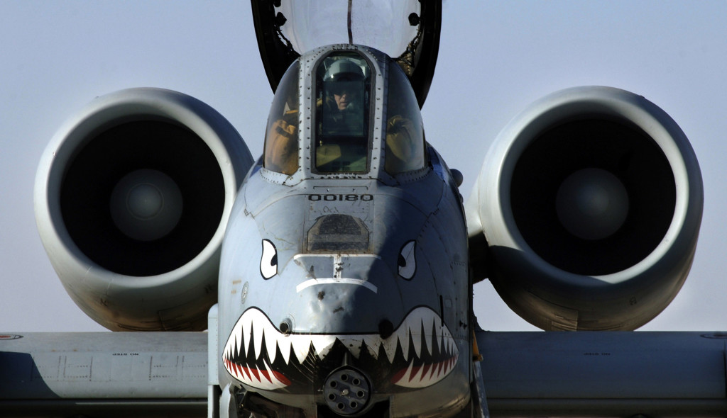 A-10 provides top cover for troops in Iraq