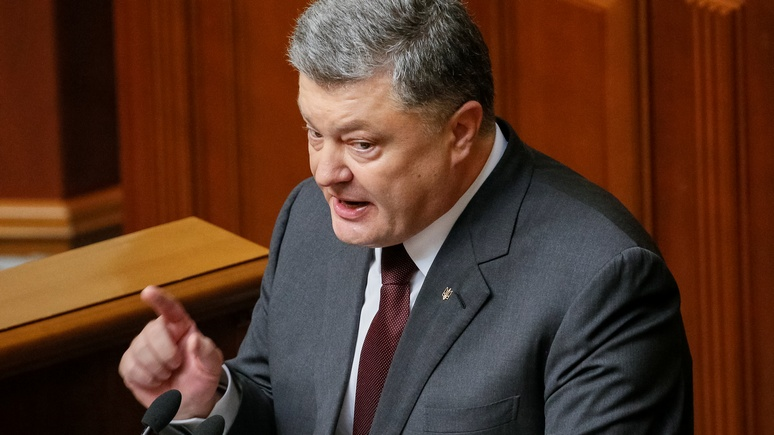 Ukraine's President Poroshenko addresses lawmakers during the opening of a new Ukrainian parliament session in Kiev