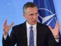 NATO Secretary General Jens Stoltenberg of Norway speaks at a press conference after meeting with German Foreign Minister in Berlin June 30, 2015 following a celebration to commemorate the 60th anniversary of Germany becoming a member of NATO and talks focused on the situation between Ukraine and Russian federation.  AFP PHOTO / JOHN MACDOUGALL        (Photo credit should read JOHN MACDOUGALL/AFP/Getty Images)