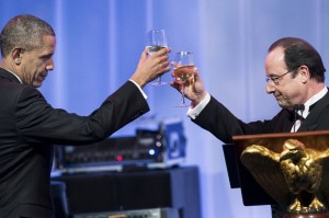 TOPSHOTS-US-FRANCE-DIPLOMACY-OBAMA-HOLLANDE
