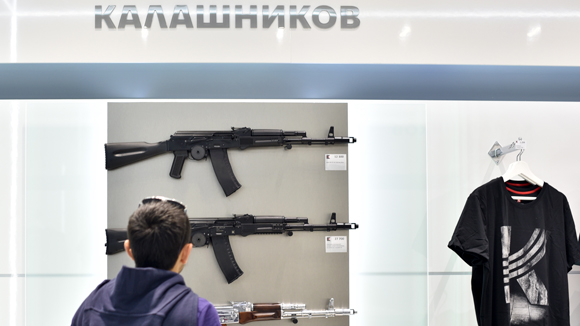 Kalashnikov Concern opens store at Moscow's Sheremetyevo Airport