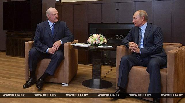 Лукашенко и Путин договорились о новой встрече в ближайшие дни с участием членов правительств
