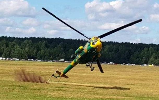 В Польше потерпел крушение военный вертолет
