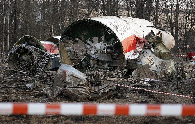 В СК заявили, что версия о взрыве на борту упавшего под Смоленском Ту-154 не подтвердилась
