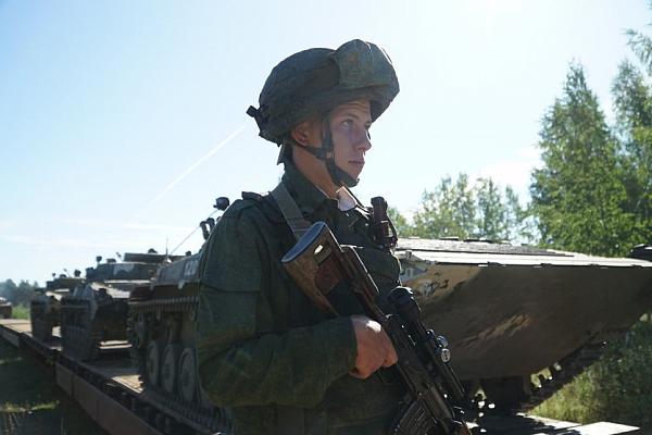 Подготовка к командно-штабному учению Вооруженных Сил