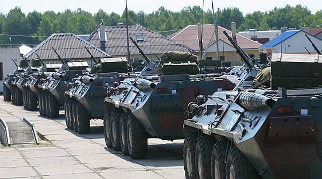 Украинские военные провели инспекцию в Беларуси