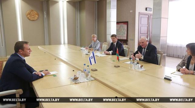 Беларусь и Израиль прорабатывают обмен парламентскими визитами на уровне спикеров