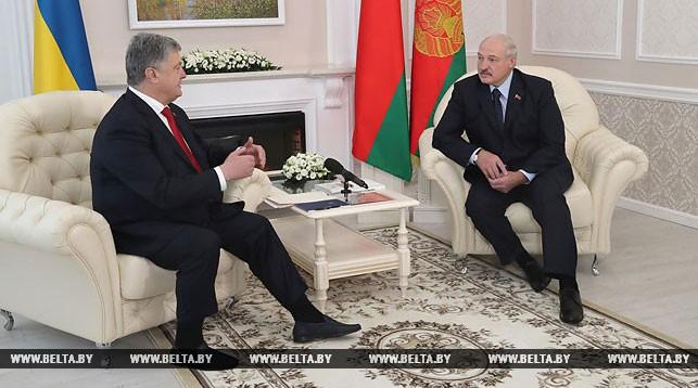 Порошенко: между Украиной и Беларусью, лидерами стран есть доверие