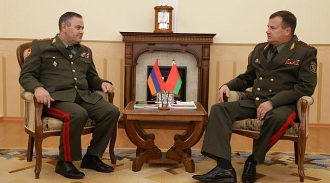 Беларусь и Армения обсудят военное сотрудничество и взаимодействие в ОДКБ