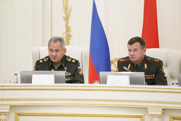В Минске состоялось заседание совместной коллегии министерств обороны Беларуси и России