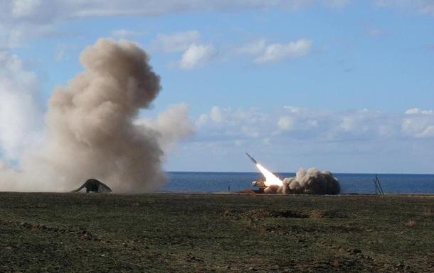 Украина начала ракетные стрельбы возле Крыма