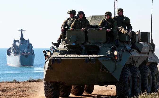 У Шойгу сильные танки, но слабый флот
