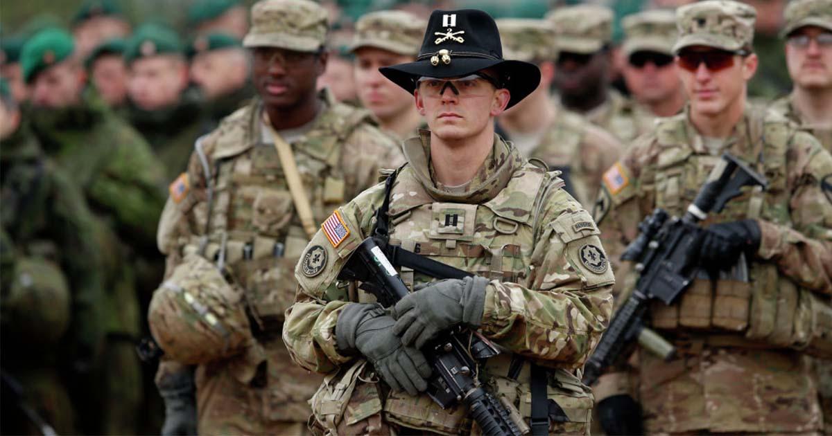 Русские тролли запугивают солдат НАТО в Прибалтике